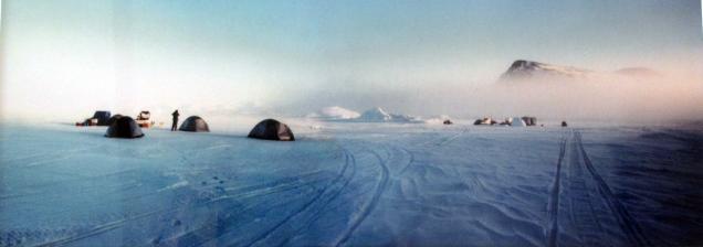 Canada-Photo-North of Buffin Bay-Framed-(5X13.5)-$150