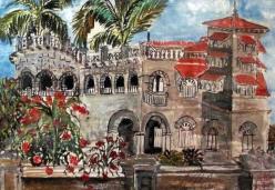 India-Halcyon Hotel-Kovalam-Framed-(5.5X8.5)-$125